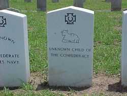 Unknown Child of the Confederacy
