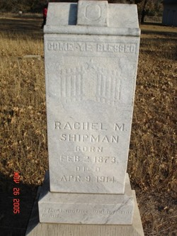 Rachel Martha <i>Jones</i> Shipman