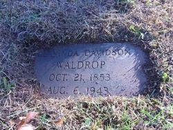 Clementine Clarinda Tiny <i>Davidson</i> Waldrop