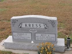 Betty A. <i>Trowbridge</i> Kress