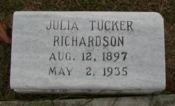 Julia <i>Tucker</i> Richardson