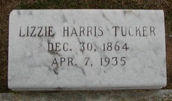 Lizzie <i>Harris</i> Tucker