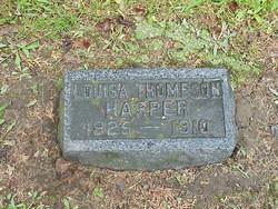 Louisa <i>Thompson</i> Harper