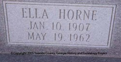 Ella <i>Horne</i> Chambers