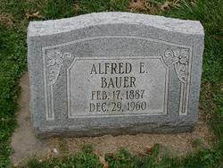 Alfred E Bauer