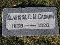Clarissa Cordelia Clara <i>Moses</i> Cannon