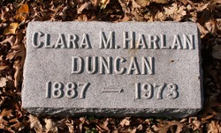 Clara M. <i>Harlan</i> Duncan
