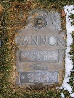 Alice <i>Nelson</i> Cannon