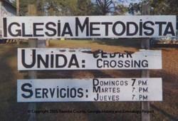 Cedar Crossing United Methodist Church Cemetery
