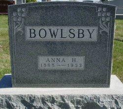 Anna Harriet <i>Read</i> Bowlsby