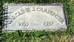 Caroline Jane <i>Moyle</i> Carpenter