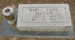 Mary <i>Bailey</i> Allison