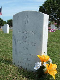 CPL Marvin Ray Borthick