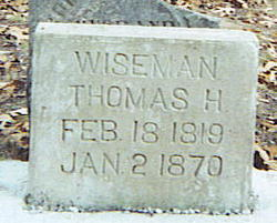 Thomas H Wiseman