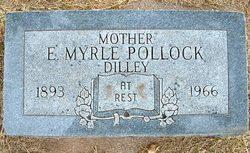 Edith Myrle <i>Dilley - Sebree</i> Pollock