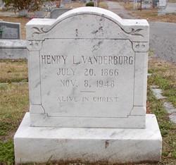 Henry Linzey Vanderburg