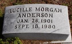Lucille <i>Morgan</i> Anderson