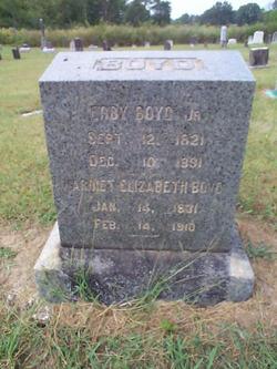 Harriett Elizabeth <i>Biggs</i> Boyd