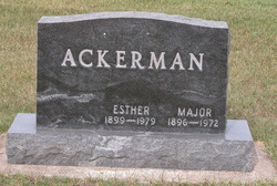 Major Ackerman