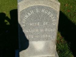 Lavinah S. <i>Hubbard</i> Bond