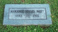Marjorie <i>Haigler</i> Voyles Britt