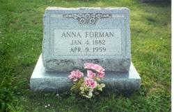 Anna <i>Wolfe</i> Forman