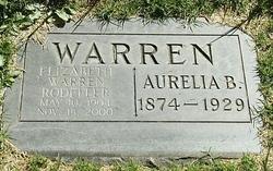 Aurelia B Warren