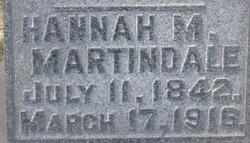 Hannah M Martindale