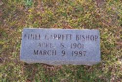 Ethel <i>Garrett</i> Bishop
