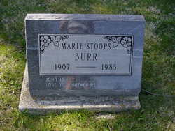 Marie <i>Stoops</i> Burr