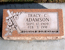 Tracy C Adamson