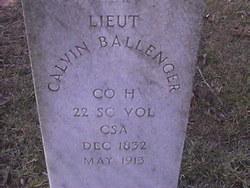 Lieut Calvin Ballenger