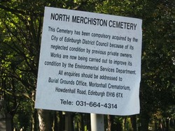 North Merchiston Cemetery