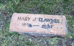Mary Ann <i>Jones</i> Clawson