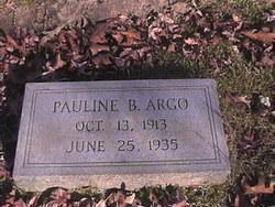 Pauline B. Argo