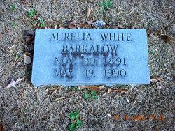 Aurelia <i>White</i> Barkalow