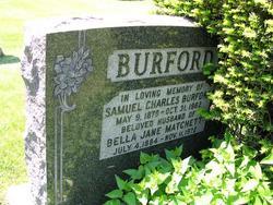 Bella Jane <i>Matchett</i> Burford