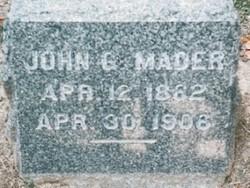 John George Mader