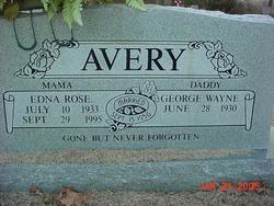 Edna Rose Avery