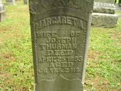 Margaret Ann <i>Thomas</i> Thurman