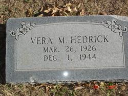 Vera Murl Hedrick