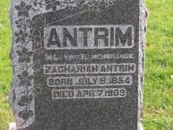 Zachariah Antrim