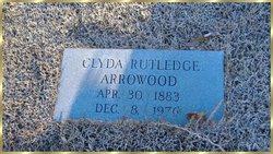 Clyda <i>Rutledge</i> Arrowood