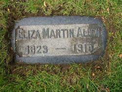 Eliza <i>Martin</i> Allen