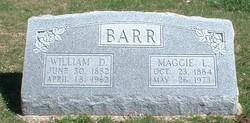 Maggie Lee <i>Parker</i> Barr