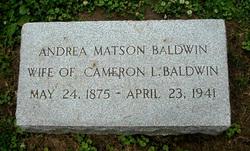Andrea <i>Matson</i> Baldwin