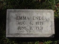 Emma A Ende