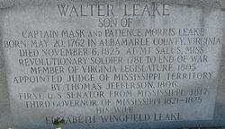 Walter Leake