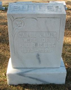 Carrie <i>James</i> Butler