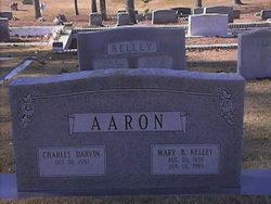 Mary B. <i>Kelley</i> Aaron